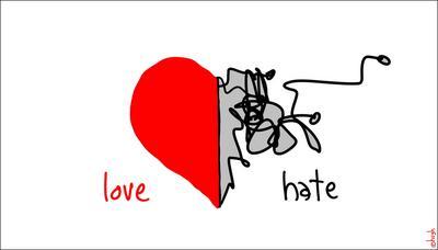 Risultati immagini per Amore Ti Odio